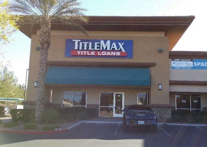 TitleMax in Vegas