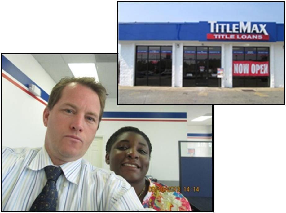 Edward and Talisha at TitleMax in Richmond Virginia