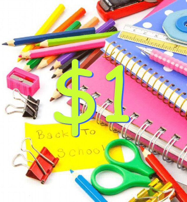 Back-To-School – 5 UNDER $1.00