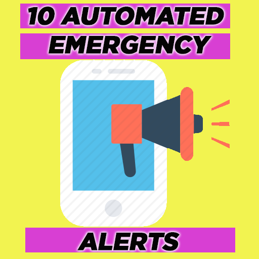 Automated Hurricane and Emergency Alerts