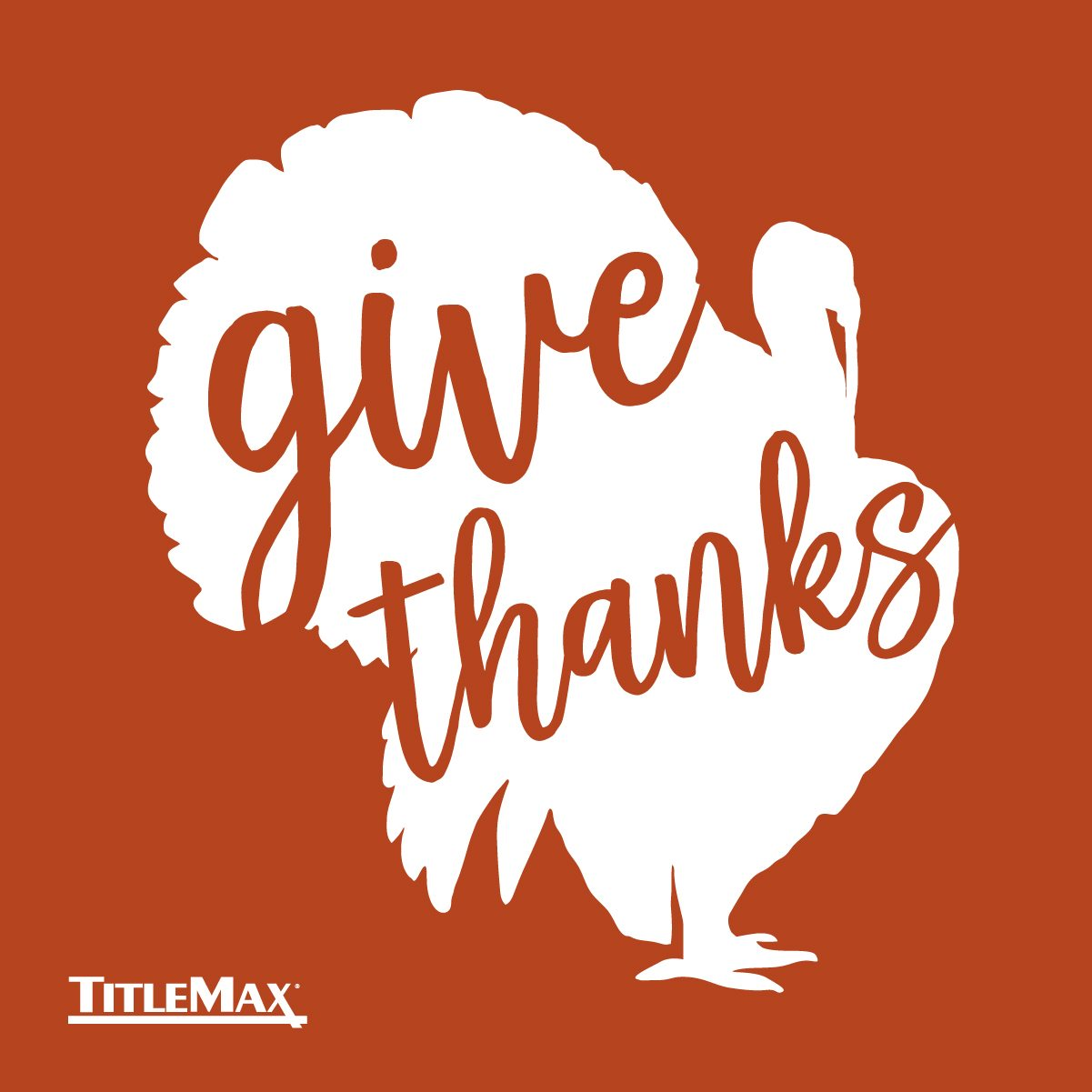 Happy Thanksgiving, TitleMax!