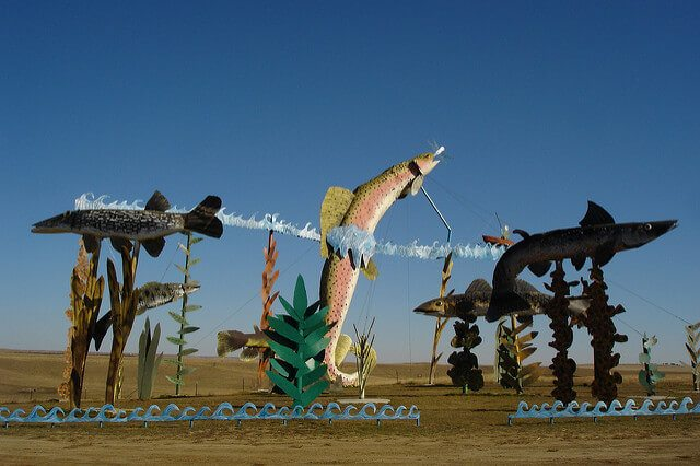 The Enchanted Highway — Regent, North Dakota