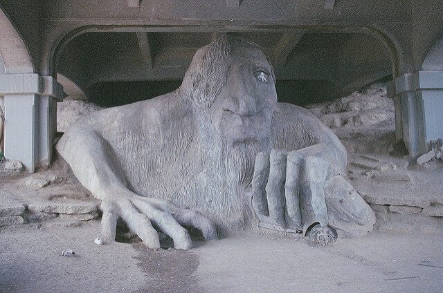 Fremont Troll — Seattle, Washington
