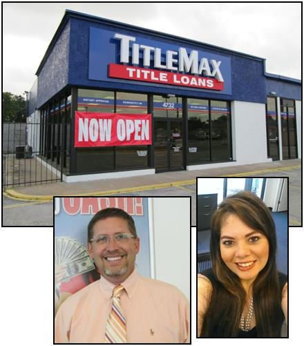 David and Monika of TitleMax in Houston