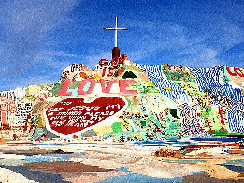 Salvation Mountain — Niland, California