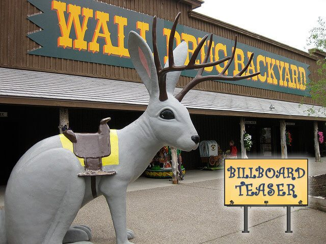 Wall Drug Backyard — Wall, South Dakota