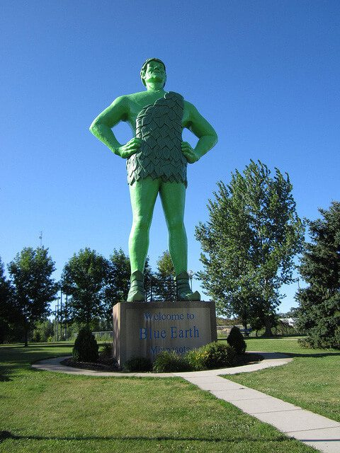 Jolly Green Giant — Blue Earth, Minnesota