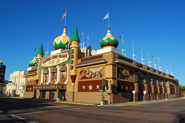 World's Only Corn Palace — Mitchell, South Dakota