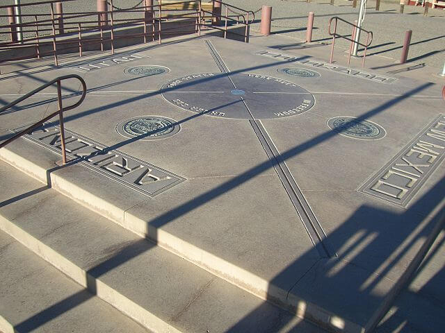 Four Corners Monument — Utah/Colorado/Arizona/New Mexico