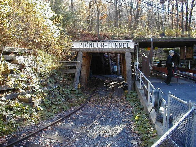 Pioneer Tunnel Coal Mine — Ashland, Pennsylvania