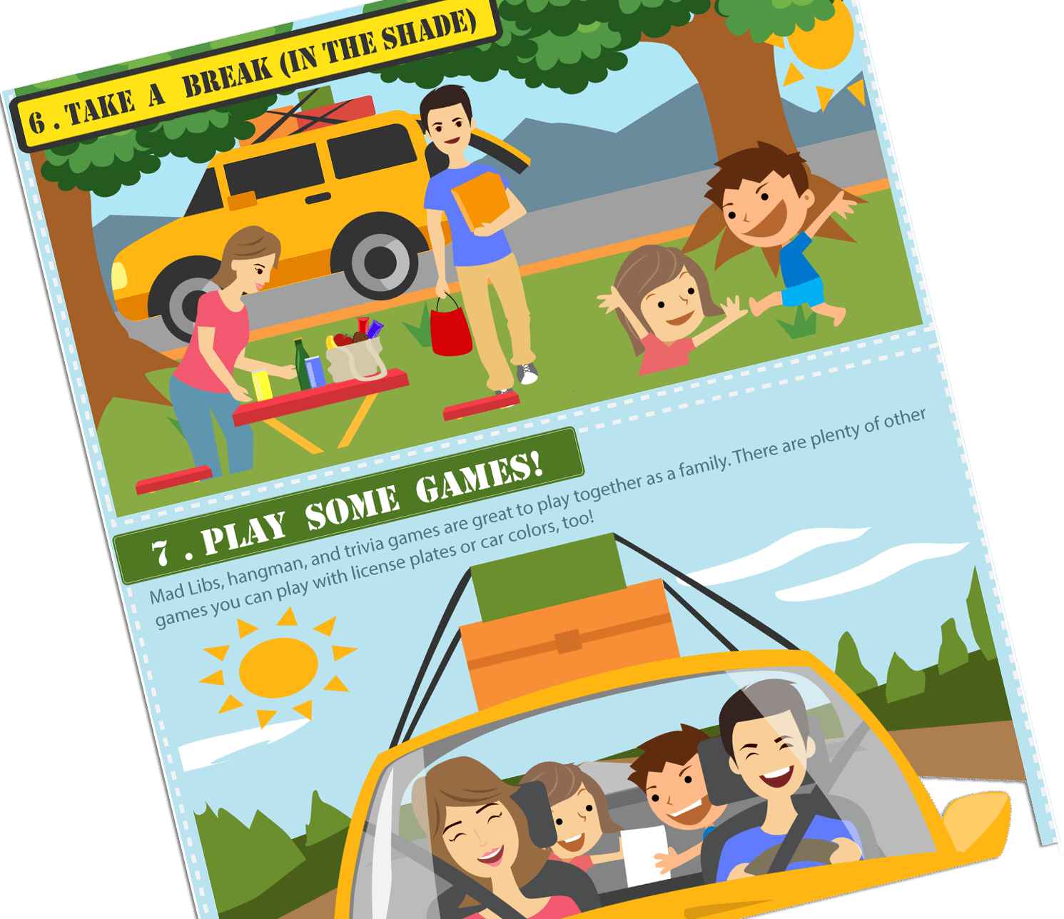 Summer Road Trip Survival Guide with Kids