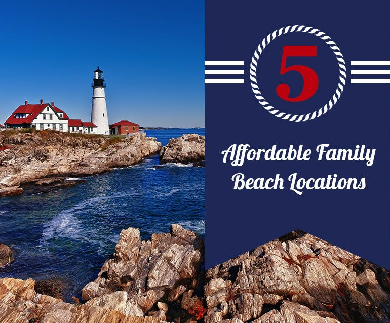 5 Refreshing Alternative Beach Getaways for The Family on a Budget