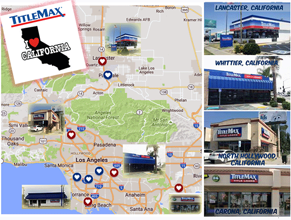 TitleMax Locations in Southern California