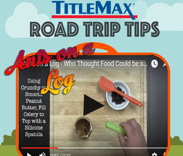 Ants on a Log – Snack Recipe Video #5