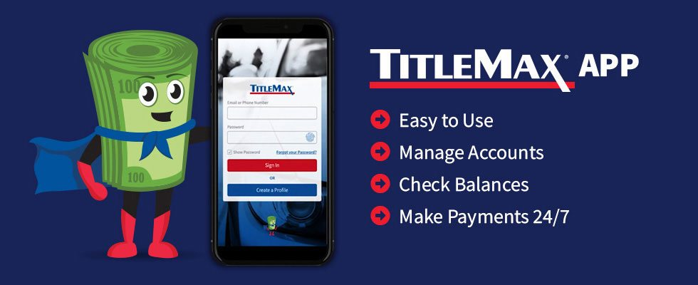 TitleMax Mobile App
